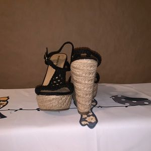 Mossimo Supply Co. Shoes - NWOT Mossimo crochet  wedges